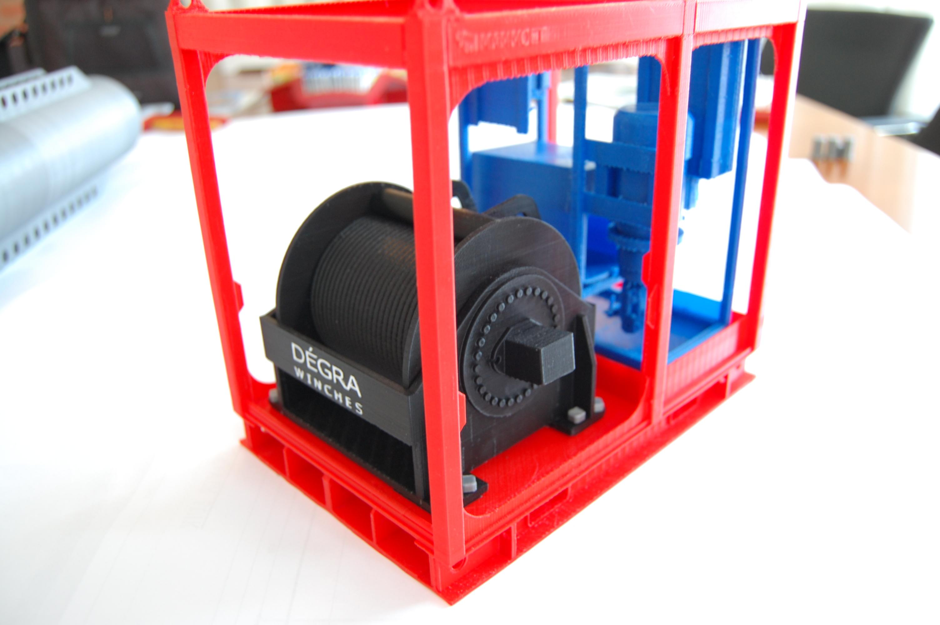 3D-Print hydraulisch lierset