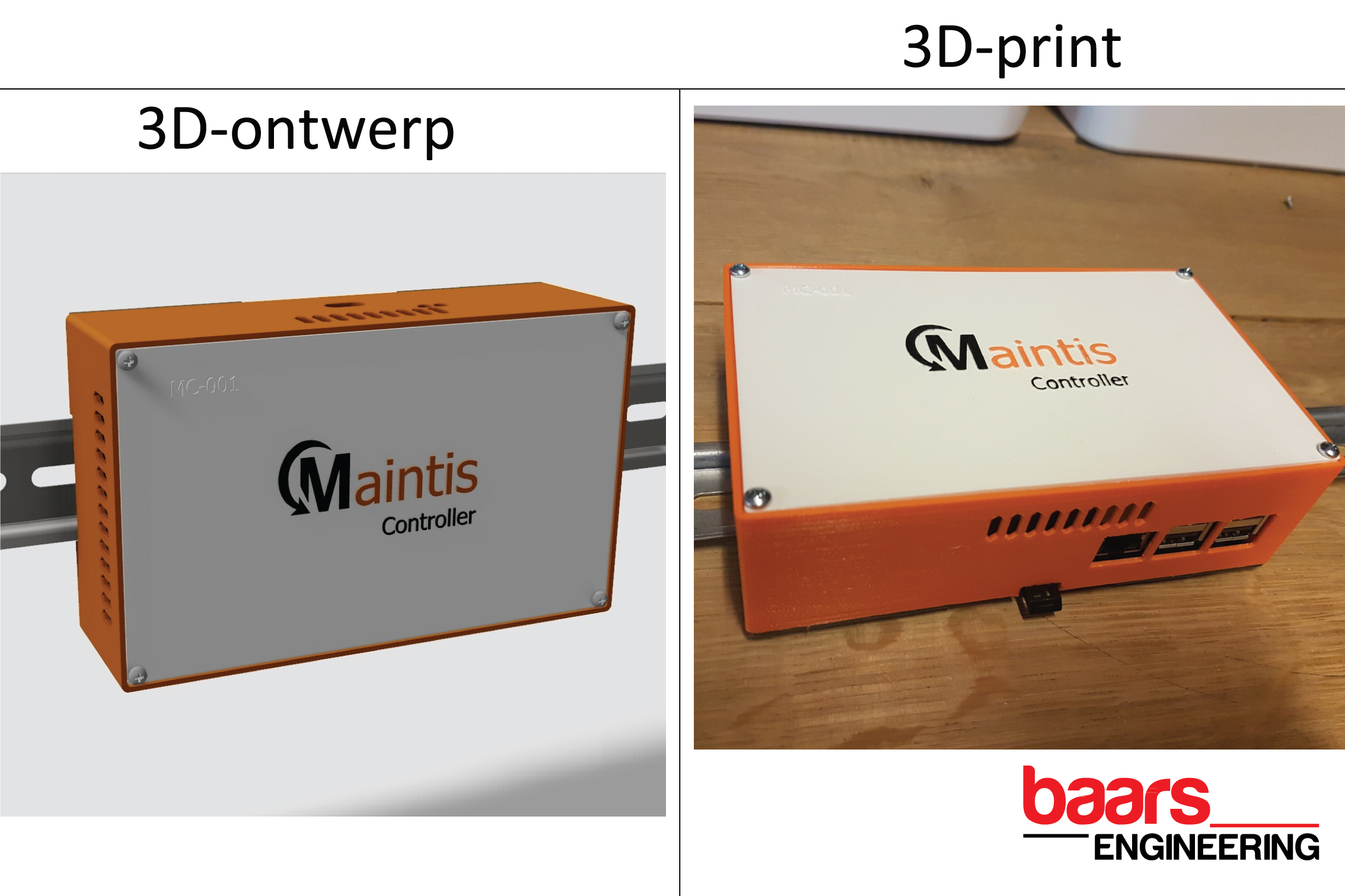 3D-print Smart Controller - Rapid prototyping